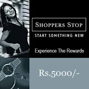 Shoppers Stop Gift Voucher 5000