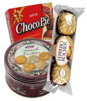 Chocolates and Cookies Gifts toCottonpet, combo to Cottonpet same day delivery