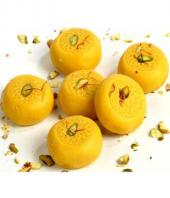 Kesar Peda  1/2 Kg Gifts toHBR Layout, mithai to HBR Layout same day delivery