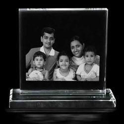 Personalized Photo engraved Crystal Plaque