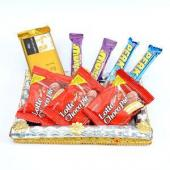 Lip Smacking Choco Treat Gifts toHBR Layout, Chocolate to HBR Layout same day delivery