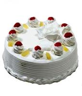 Pineapple Cake 1kg Gifts toBanaswadi, cake to Banaswadi same day delivery