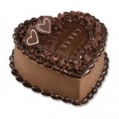 Chocolate Heart Gifts toDomlur, cake to Domlur same day delivery