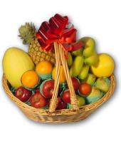 Fruit Basket 4 kgs Gifts toChamrajpet, fresh fruit to Chamrajpet same day delivery
