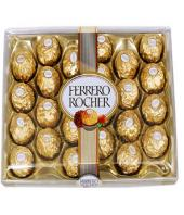 Ferrero Rocher 24 pc Gifts toShanthi Nagar, Chocolate to Shanthi Nagar same day delivery