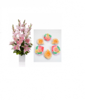 Blushing with Multi colored Diyas Gifts toIndia, Combinations to India same day delivery