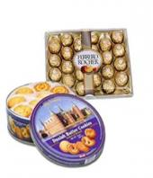 Choco and Biscuits Hamper Gifts toAshok Nagar, combo to Ashok Nagar same day delivery