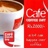 Cafe Coffee Day Gift Voucher 2000 Gifts toIndia, Gifts to India same day delivery