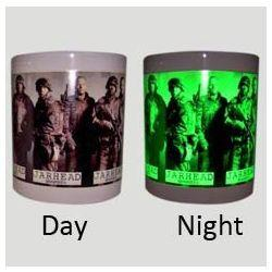 Personalized Photo Mugs Glow different at Day and Night