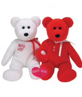 I Love You Bear Pair 5 inch Gifts toIndia, teddy to India same day delivery