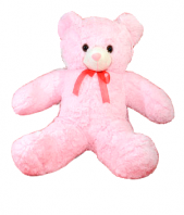 Light Pink Soft toy Teddy Gifts toIndia, teddy to India same day delivery