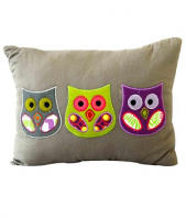 OWL Pillow Gifts toIndia, toys to India same day delivery
