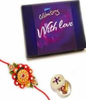 Celebrations Rakhi Gifts toIndia, flowers and rakhi to India same day delivery
