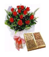 Roses and Dry Fruits