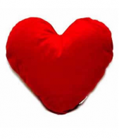 Heart pillow Gifts toIndia, toys to India same day delivery
