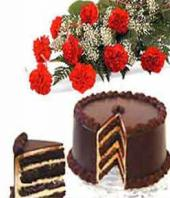 Chocolaty Delight Gifts toRMV Extension, combo to RMV Extension same day delivery