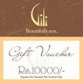 Gili Gift Voucher 10000 Gifts toIndia, Gifts to India same day delivery