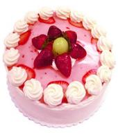 Strawberry cake small