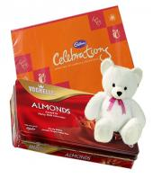 Chocolates and Teddy Gifts toAshok Nagar, combo to Ashok Nagar same day delivery