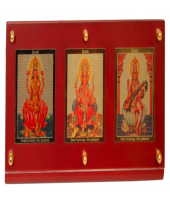 3 in One Deity Photo Frame Gifts toCottonpet, diviniti to Cottonpet same day delivery