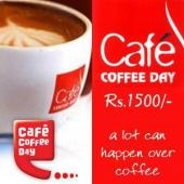 Cafe Coffee Day Gift Voucher 1500 Gifts toIndia, Gifts to India same day delivery