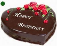 Chocolate Truffle Heart Gifts tomumbai, cake to mumbai same day delivery