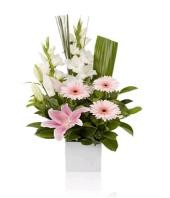 Pink Purity Gifts toHBR Layout, flowers to HBR Layout same day delivery