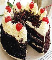 Black forest cake 1kg Gifts toAshok Nagar, cake to Ashok Nagar same day delivery