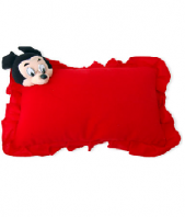 Pillow with Mickey Gifts toIndia, toys to India same day delivery