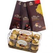 Bournville and Ferrero Gifts toIndia, Chocolate to India same day delivery