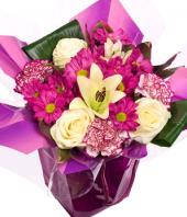 Purple Delight Gifts toAgram, flowers to Agram same day delivery