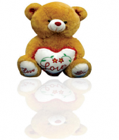 Love Teddy Bear Gifts toIndia, teddy to India same day delivery