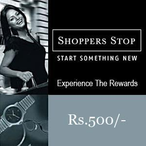 Shoppers Stop Gift Voucher 500