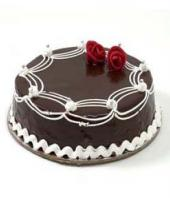 Chocolate cake small Gifts toCottonpet, cake to Cottonpet same day delivery