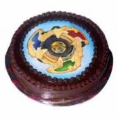 Bey Blade Cake Gifts tomumbai, cake to mumbai same day delivery