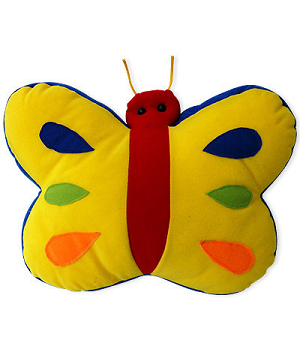 Color full Butterfly Cushion