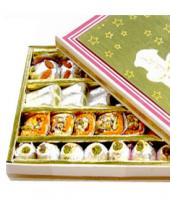 Kaju Assorted sweets  1 kg Gifts toCunningham Road, mithai to Cunningham Road same day delivery