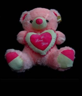 I Love You Teddy Gifts toIndia, teddy to India same day delivery