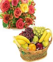 Fruit and Flowers Gifts toCottonpet, combo to Cottonpet same day delivery