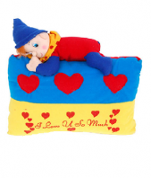Naughty Pillow Gifts toIndia, toys to India same day delivery