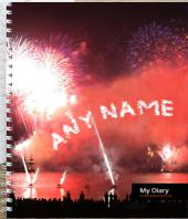 Personalised Diary Gifts toIndia, personal gifts to India same day delivery