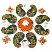 Festive Rangoli Gifts toIndia, Festive Rangoli to India same day delivery