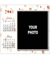 Personalised Photo Calendar Gifts toIndia, personal gifts to India same day delivery