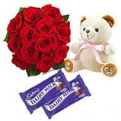 Best Wishes Gifts toIndia, teddy to India same day delivery