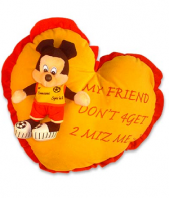 Mickey pillow Gifts toIndia, toys to India same day delivery