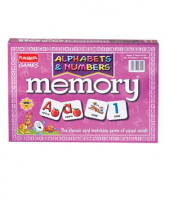 Alphabets and Numbers Memory